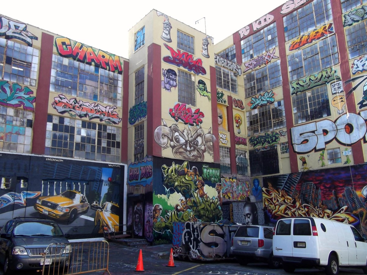 nyc. queens. long island city. 5 pointz. another visit.
