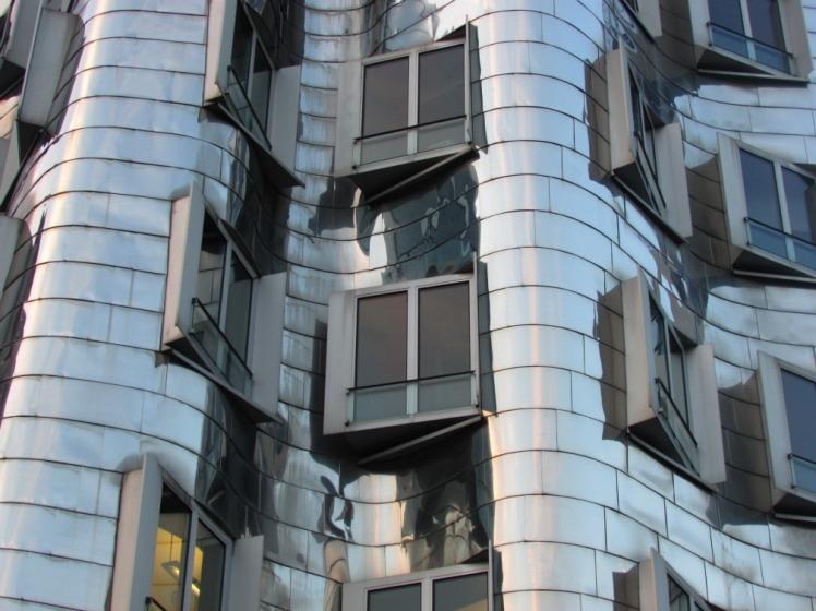 Neuer Zollhof by Frank Gehry, Medienhafen, Düsseldorf