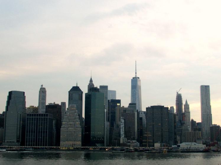 Lower Manhattan seen from the Brooklyn Heights Promenade