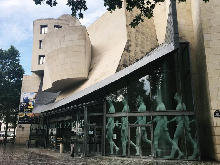 Paris Gehry Cinematheque